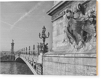 Pont Alexandre Wood Print