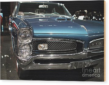 Pontiac Gto Wood Print by Wingsdomain Art and Photography