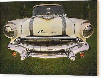 Pontiac Wood Print by Jerry Golab