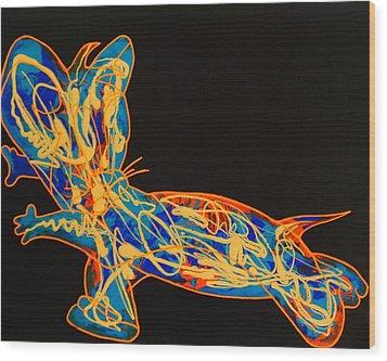 Pop Art Wood Print