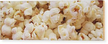Popcorn 2 Wood Print by Martin Cline