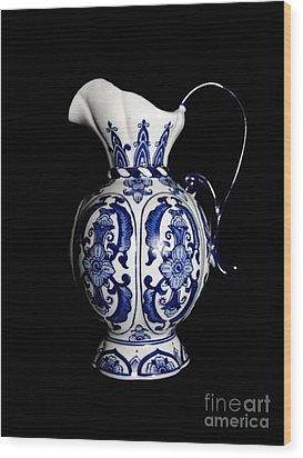 Porcelain 2 Wood Print by Jose Luis Reyes