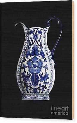 Porcelain1 Wood Print by Jose Luis Reyes