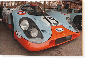 Porsche 917 Wood Print