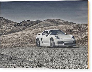Porsche Cayman Gt4 In The Wild Wood Print