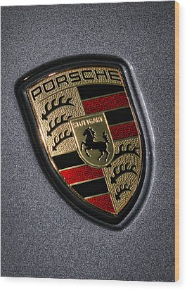 Porsche Wood Print by Gordon Dean II