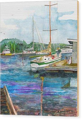 Port Mcneil Bc Wood Print