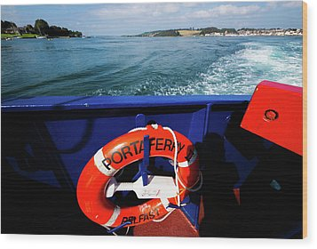 Portaferry Ferry Wood Print