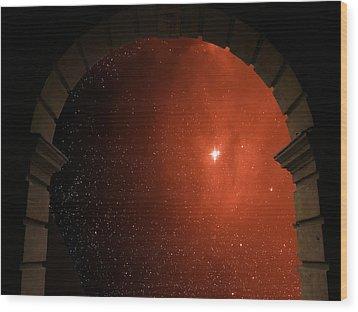 Portal To Ophiuchus  Wood Print by Jim DeLillo