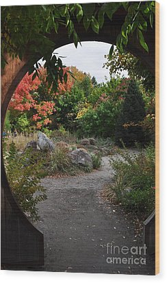 Portal To Paradise Wood Print