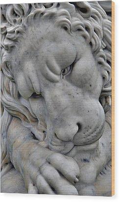 portend II Wood Print by Phil Bongiorno