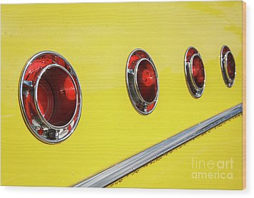 Wood Print featuring the photograph Portholes by Dennis Hedberg