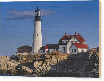 Portland Head Light No. 43 Wood Print