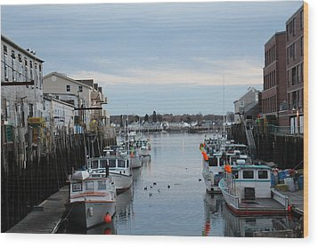 Portland Maine  Wood Print