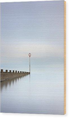 Wood Print featuring the photograph Portobello Long Exposure by Grant Glendinning