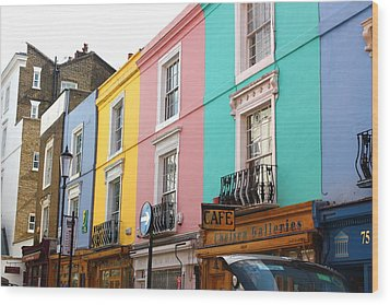 Portobello Road 02 Wood Print by Yvonne Ayoub