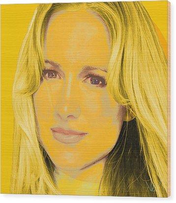 Portrait C1 Wood Print