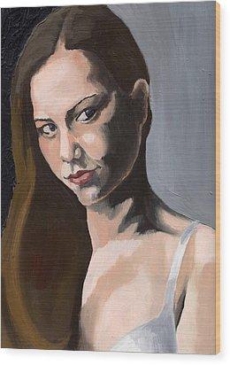 Portrait Of Amanda Wood Print