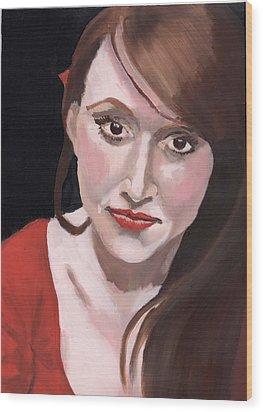 Portrait Of Howley Wood Print