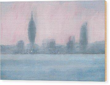 Portsmouth Dawn Part Six Wood Print by Alan Daysh