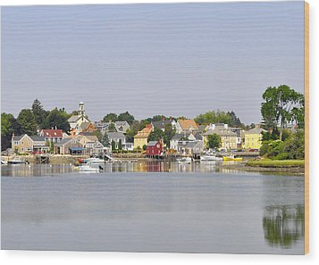 Portsmouth Nh South End Psep Wood Print by Jim Brage