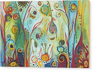 Possibilities Wood Print by Jennifer Lommers