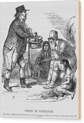 Potato Famine, 1846 Wood Print by Granger