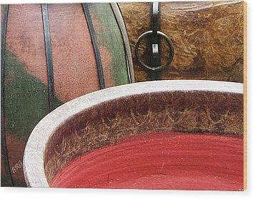 Pottery Abstract Wood Print by Ben and Raisa Gertsberg