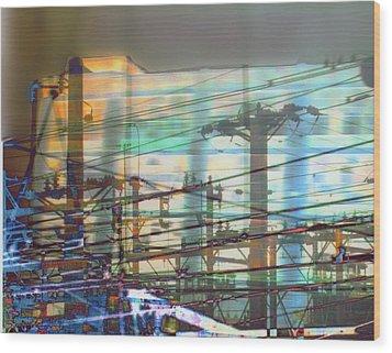 Power 1 Wood Print by Ann Tracy