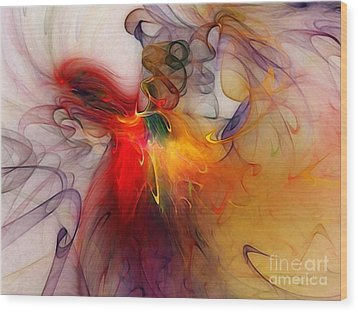 Powers Of Expression Wood Print