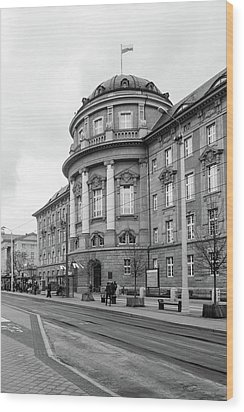 Poznan University Of Medical Sciences Wood Print