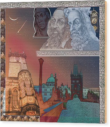 Prague Daydream Wood Print by John Scariano
