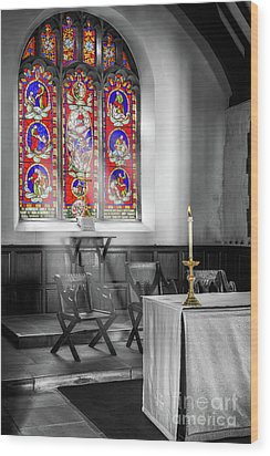 Wood Print featuring the photograph Prayers And Hope by Adrian Evans