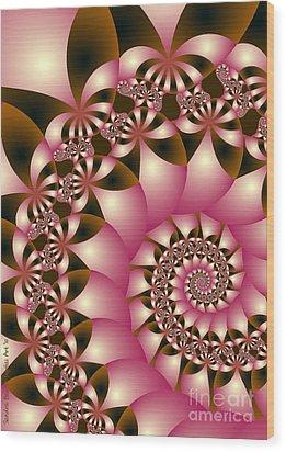 Precious Wood Print by Sandra Bauser Digital Art