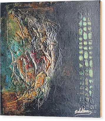 Precious4 Wood Print by Farzali Babekhan