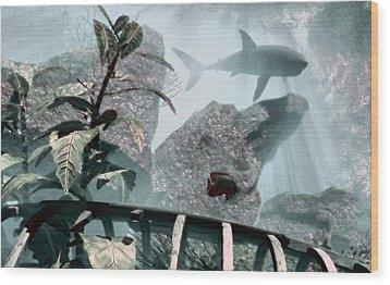 Predator Wood Print by Richard Rizzo