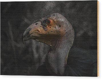 Prehistoric Wood Print by David Gn