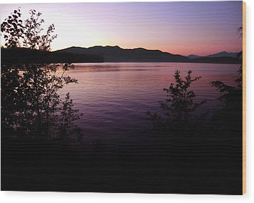 Preist Lake Sleeping Wood Print