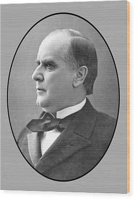President Mckinley Wood Print by War Is Hell Store