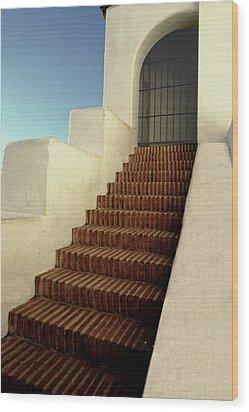 Presidio Wood Print by Paul Wear