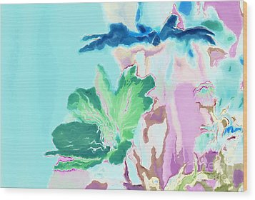 Pretty Bouquet A09z Wood Print by Variance Collections
