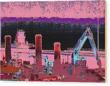Pretty In Pink Wood Print by Rachel Christine Nowicki