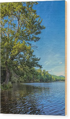 Price Lake Wood Print by Swank Photography