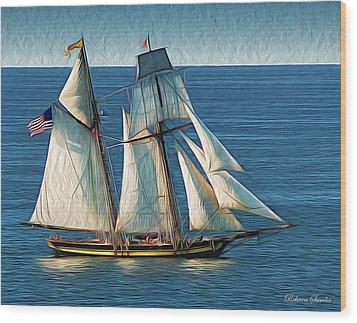 Pride Of Baltimore Wood Print