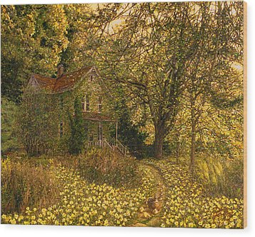 Primrose Path Wood Print by Doug Kreuger