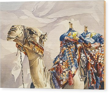 Prince Of The Desert Wood Print by Beth Kantor