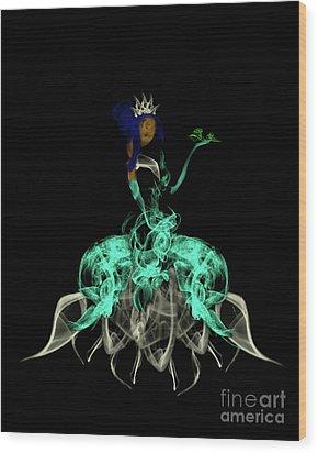 Princess And The Frog Wood Print