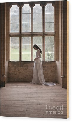 Princess In The Castle Wood Print