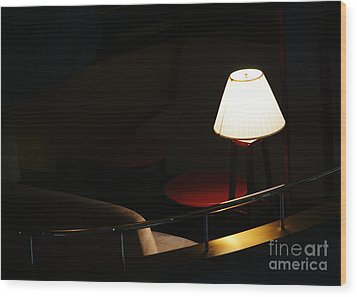 Private Affair Wood Print