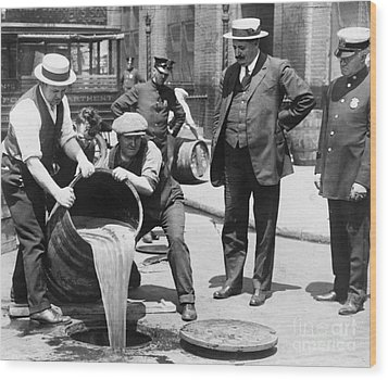 Prohibition, C1921 Wood Print by Granger